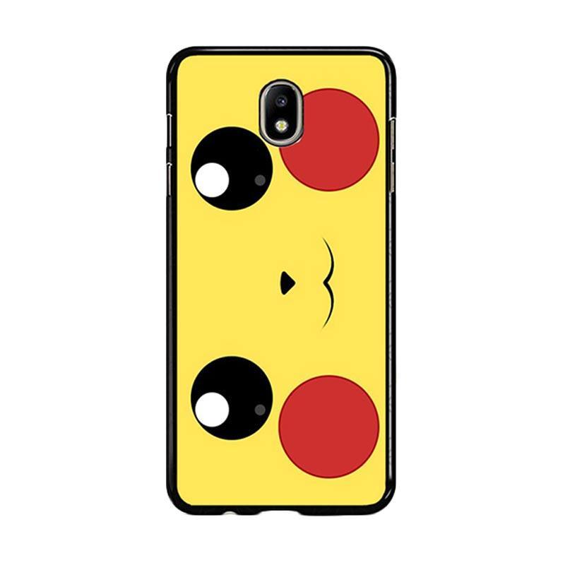 Flazzstore Pokemon Pikachu Poket Monster Case F0580 Custom Casing for Samsung Galaxy J7 Pro 2017