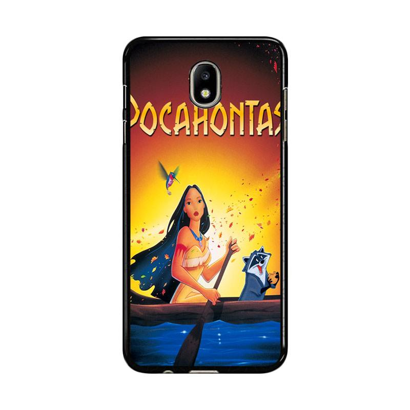 Flazzstore Disney Pocahontas Movie Poster Z0130 Custom Casing for Samsung Galaxy J7 Pro 2017