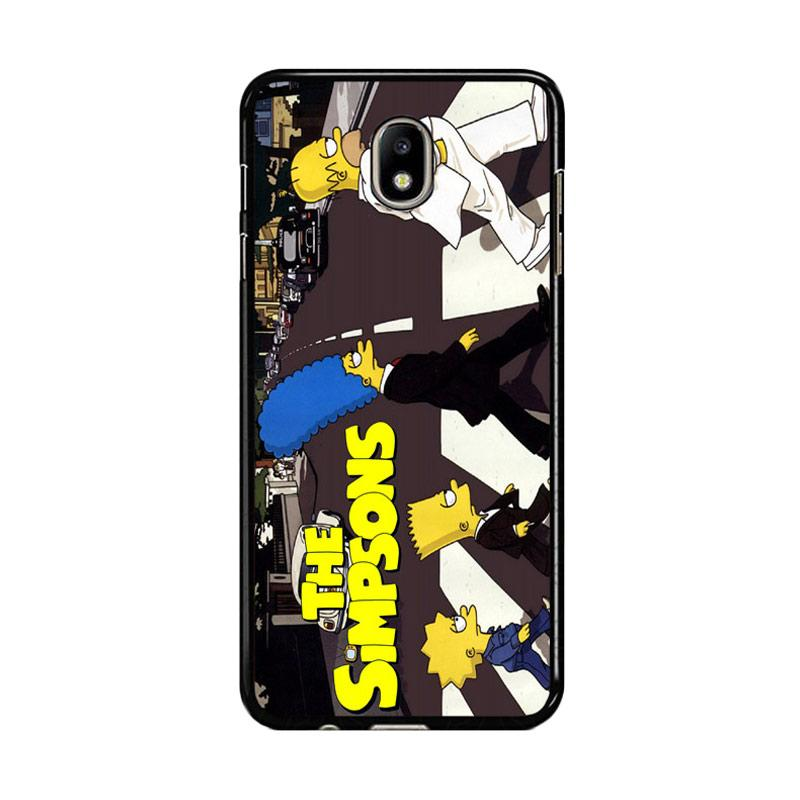 Flazzstore The Simpsons A Tribute The Beatles F0814 Custom Casing for Samsung Galaxy J5 Pro 2017