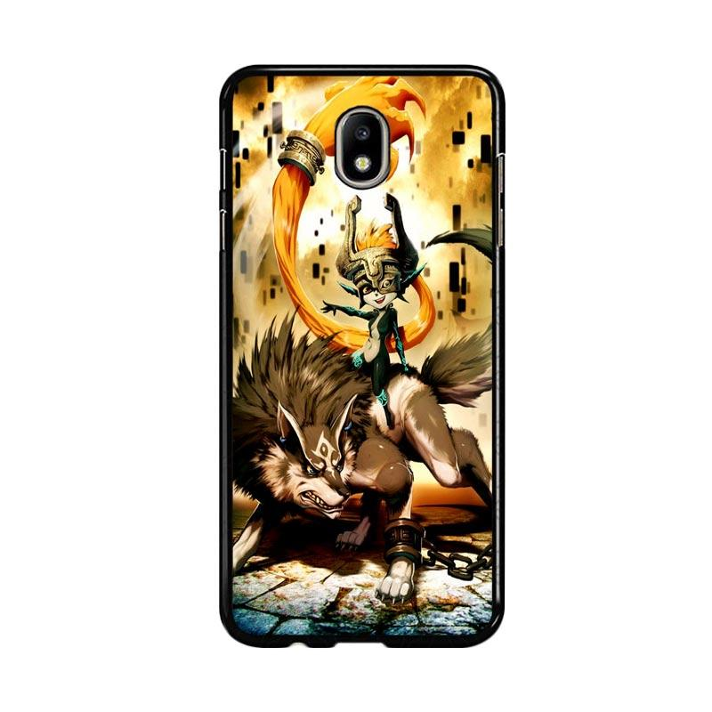 Flazzstore Zelda And Wolf Twilight Princess Z0255 Custom Casing for Samsung Galaxy J7 Pro 2017