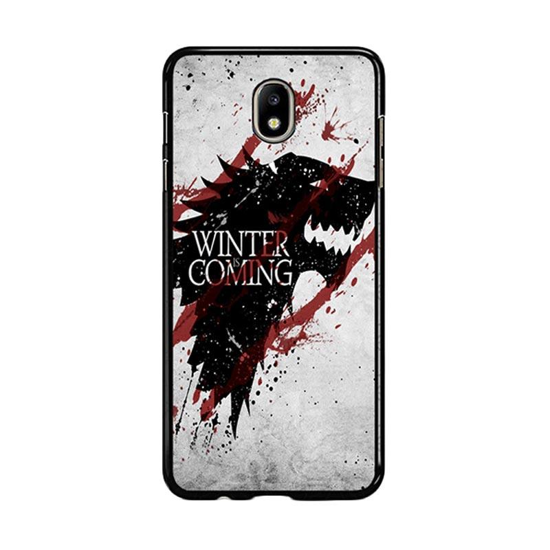 Flazzstore Winter Is Coming House Stark Logo Z0308 Custom Casing for Samsung Galaxy J7 Pro 2017