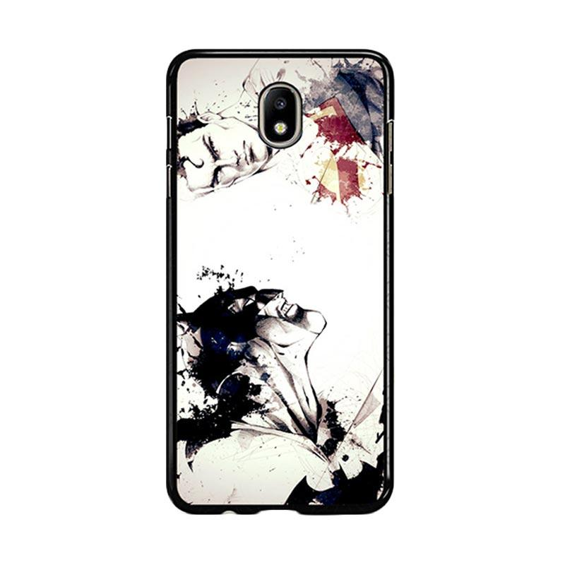 Flazzstore Superman Vs Batman Art Z0483 Custom Casing for Samsung Galaxy J5 Pro 2017