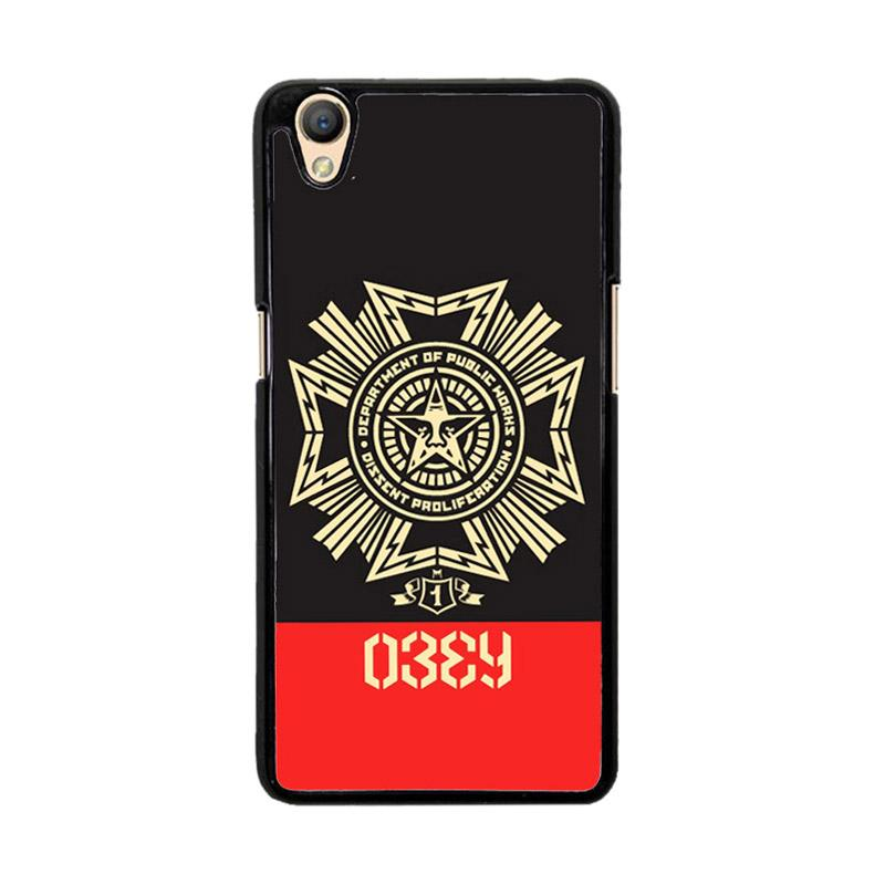 Flazzstore Obey Clothing O0726 Custom Casing for Oppo Neo 9 A37
