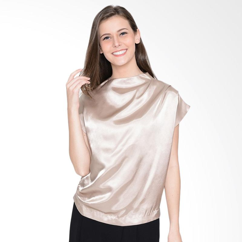 A&D Fashion Ms 1002b Ladies Blouse Feminim - Gold