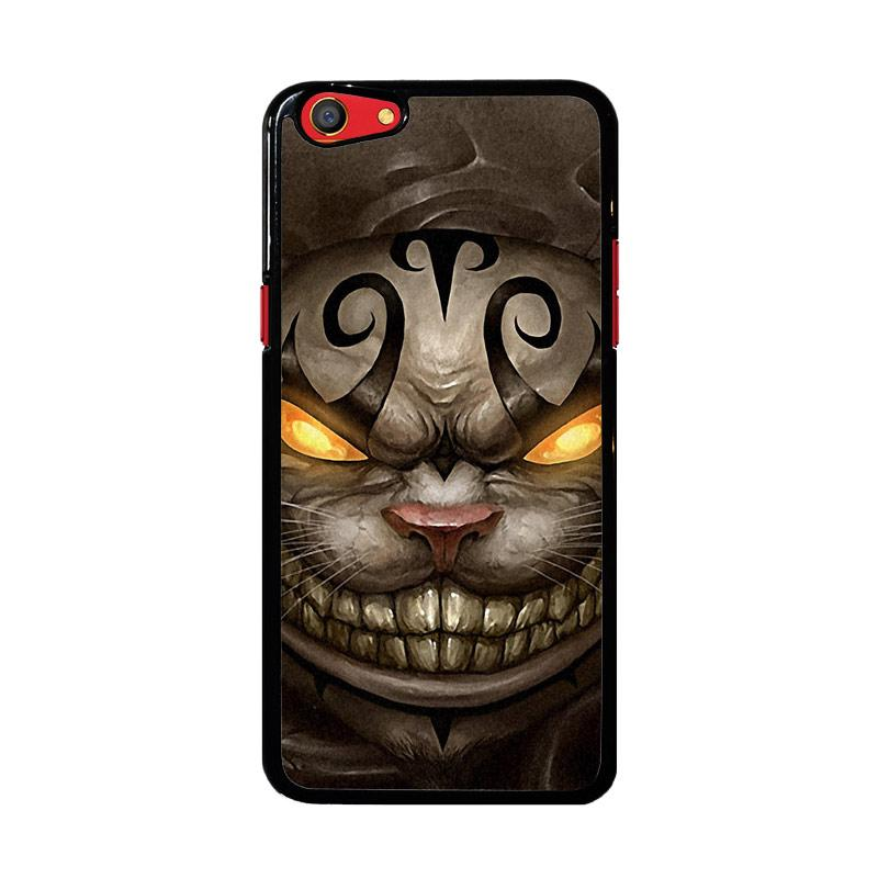 Flazzstore Alice Madness Returns Cheshire Cat Z0999 Custom Casing for Oppo F3