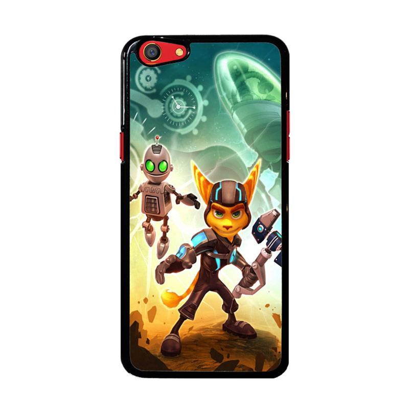 Flazzstore Ratchet And Clank Z1150 Custom Casing for Oppo F3