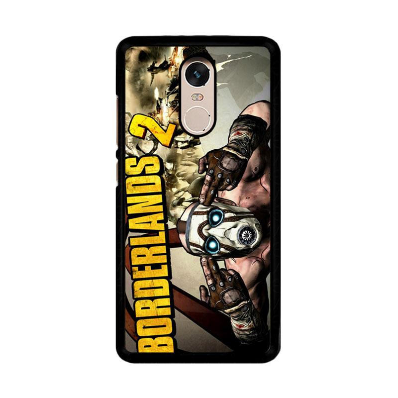 Flazzstore Borderlands 2 Video Game Z1191 Custom Casing for Xiaomi Redmi Note 4 or Note 4X Snapdragon Mediatek