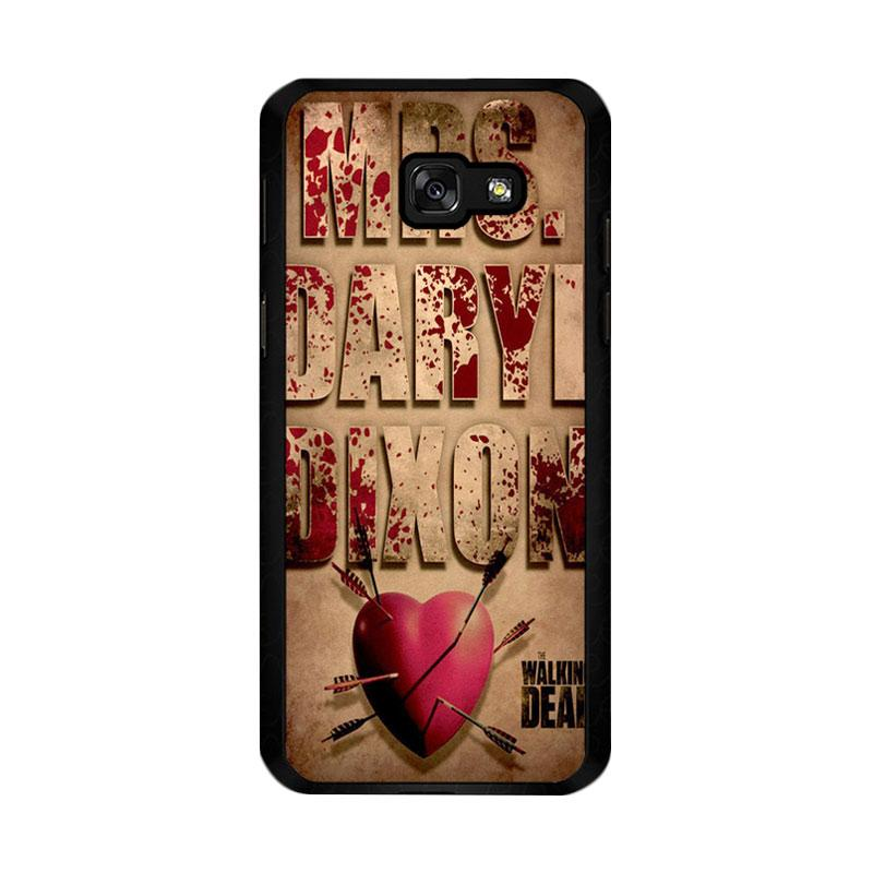 Flazzstore The Walking Dead Mrs Dixon Z0702 Custom Casing for Samsung Galaxy A5 2017