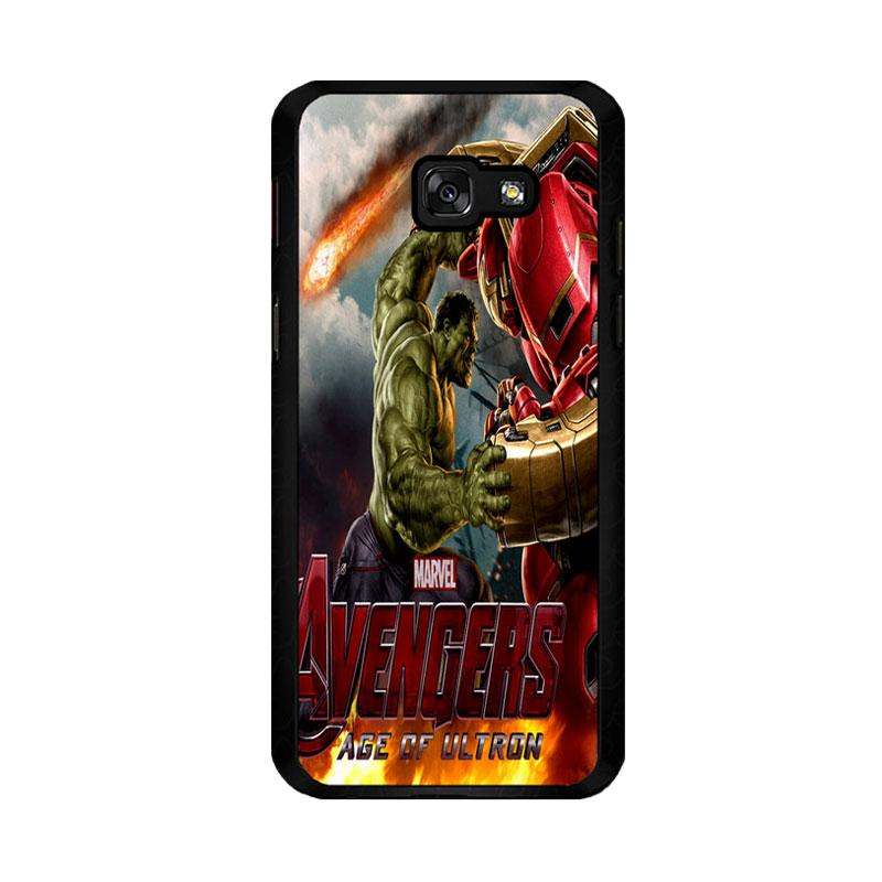 Flazzstore Hulk Vs Hulkbuster Avengers Age Of Ultron Z0742 Custom Casing for Samsung Galaxy A5 2017