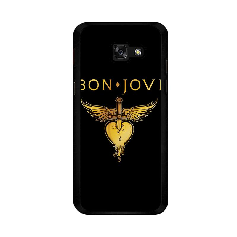 Flazzstore Bon Jovi Logo F0357 Custom Casing for Samsung Galaxy A5 2017