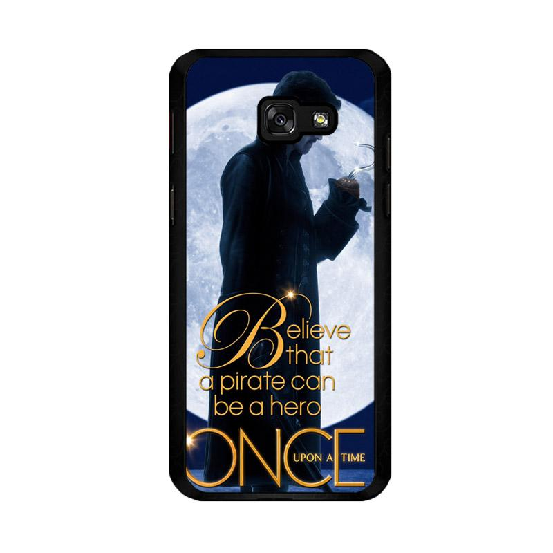 Flazzstore Once Upon A Time Captain Hook Believe F0542 Custom Casing for Samsung Galaxy A5 2017