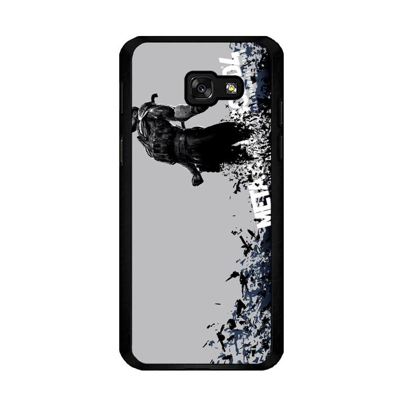 Flazzstore Metal Gear Solid Z0035 Custom Casing for Samsung Galaxy A5 2017