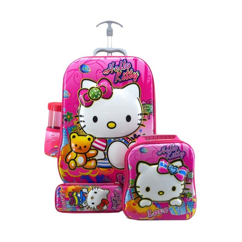 DJ Fashion 0538 6D 4in1 Set Tas Sekolah Anak