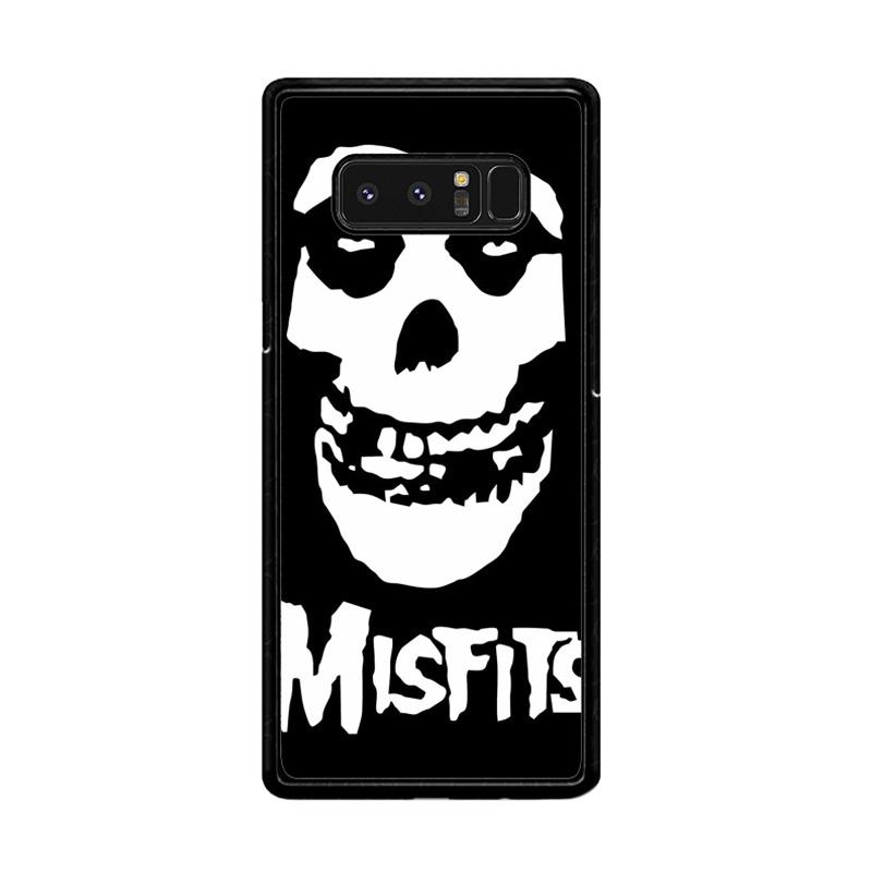 Flazzstore Horror Punk Rock Band Misfits Skull Z0506 Custom Casing for Samsung Galaxy Note8