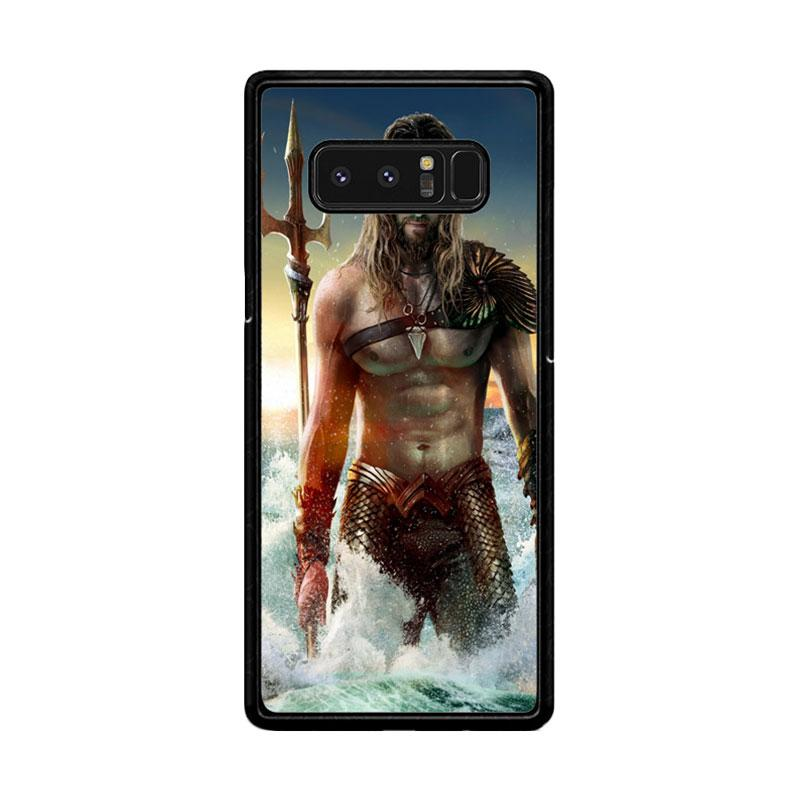 Flazzstore Jason Momoa As Aquaman Z0582 Custom Casing for Samsung Galaxy Note8