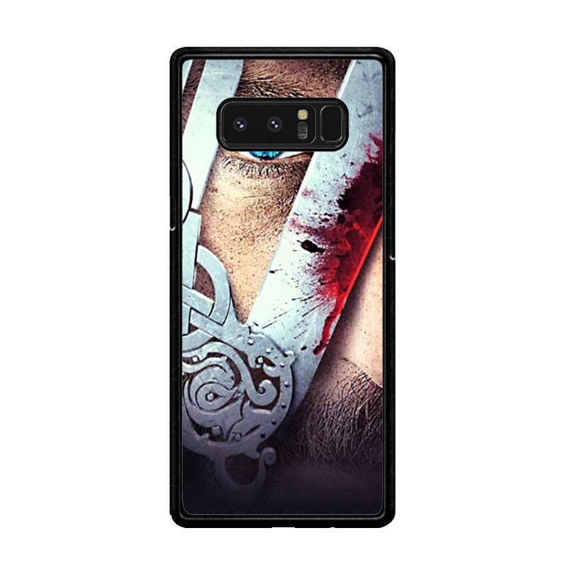 Flazzstore Vikings Tv Show Eyes Z0937 Custom Casing forSamsung Galaxy Note8