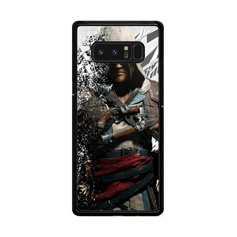 Flazzstore Assassin'S Creed Edward Kenway Z1416 Custom Casing for Samsung Galaxy Note8
