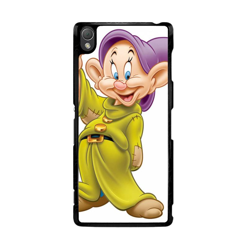 Flazzstore Disney Snow White 7 Dwarf Dopey Z0704 Custom Casing for Sony Xperia Z3