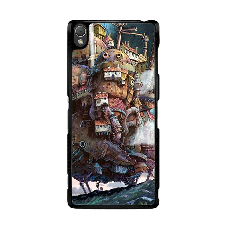 Flazzstore Howl'S Moving Castle Z0087 Custom Casing for Sony Xperia Z3