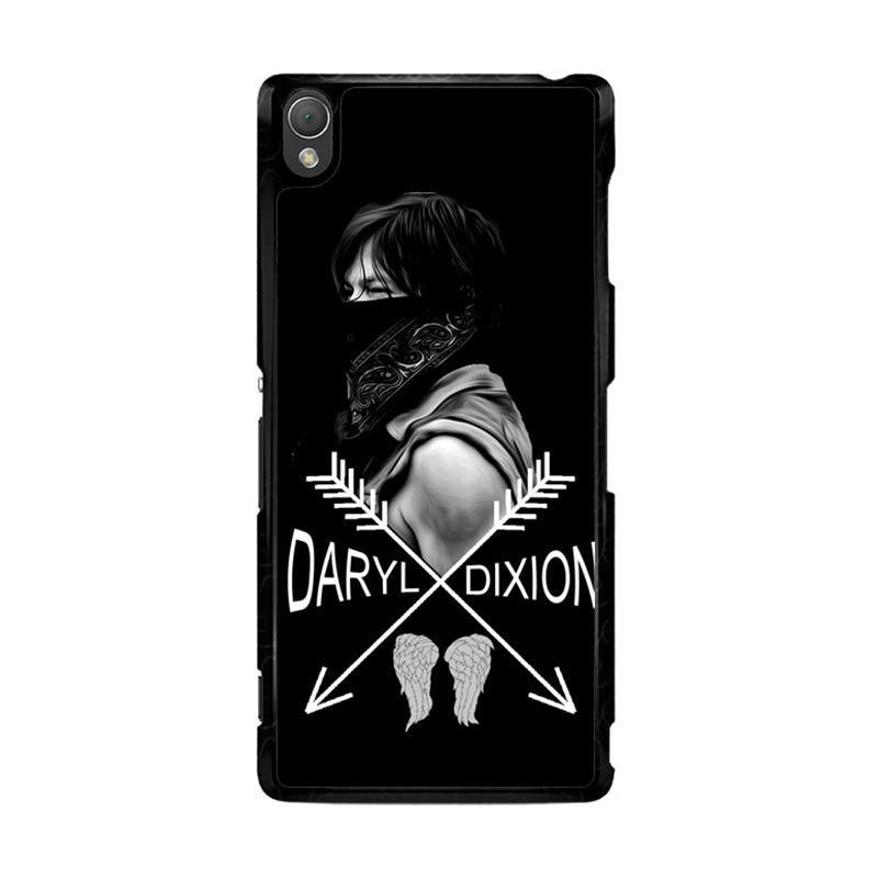 Flazzstore Daryl Dixon Z0157 Custom Casing for Sony Xperia Z3