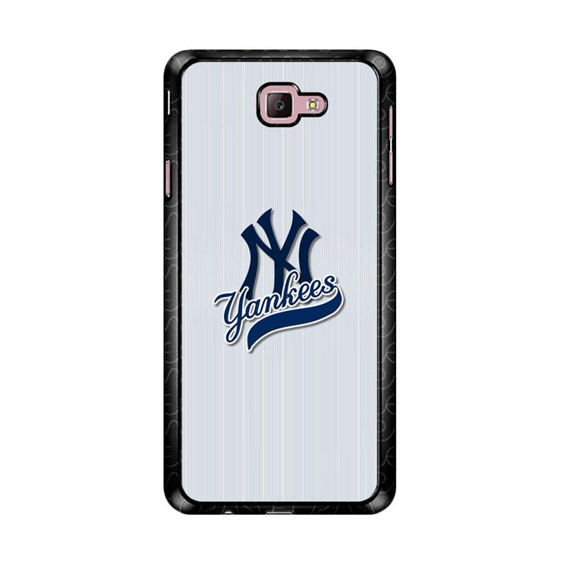 Flazzstore New York Yankees Logo Z4795 Custom Casing for Samsung Galaxy J7 Prime