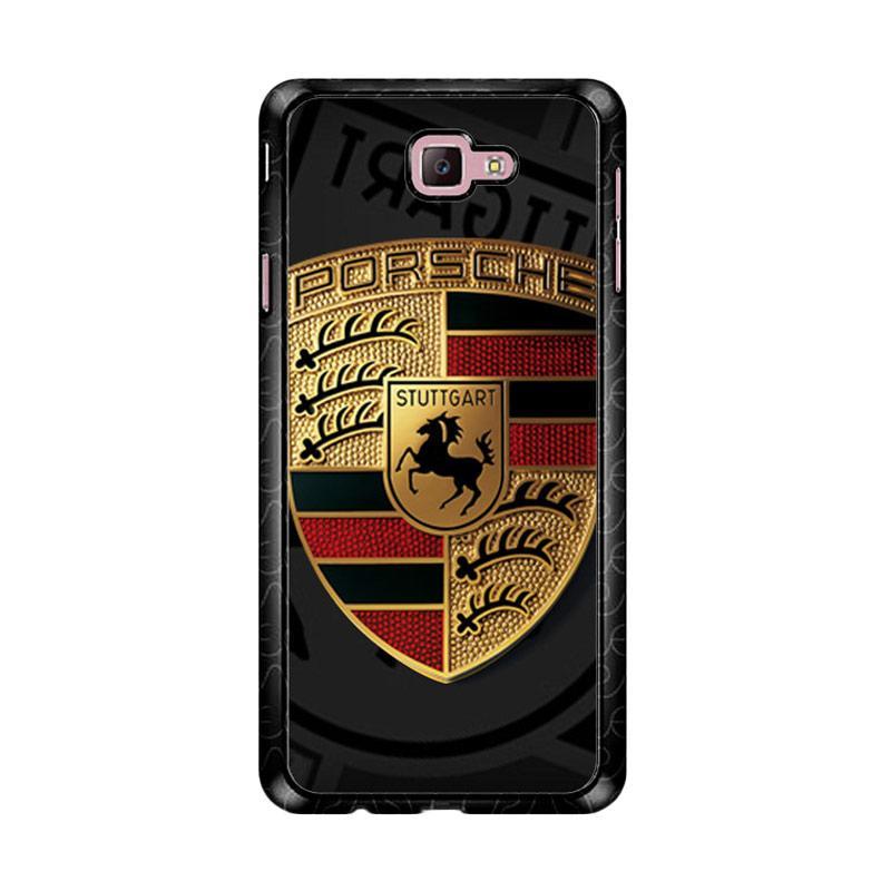 Flazzstore Porsche Logo Z5057 Custom Casing for Samsung Galaxy J7 Prime