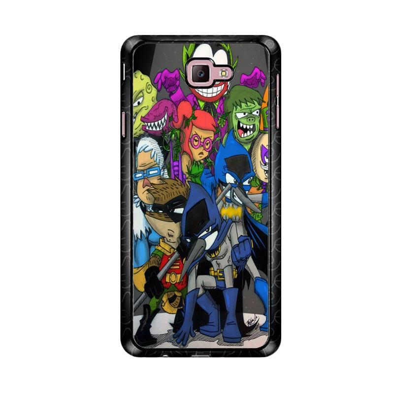 Flazzstore Regular Show Batman D0014 Custom Casing for Samsung Galaxy J7 Prime