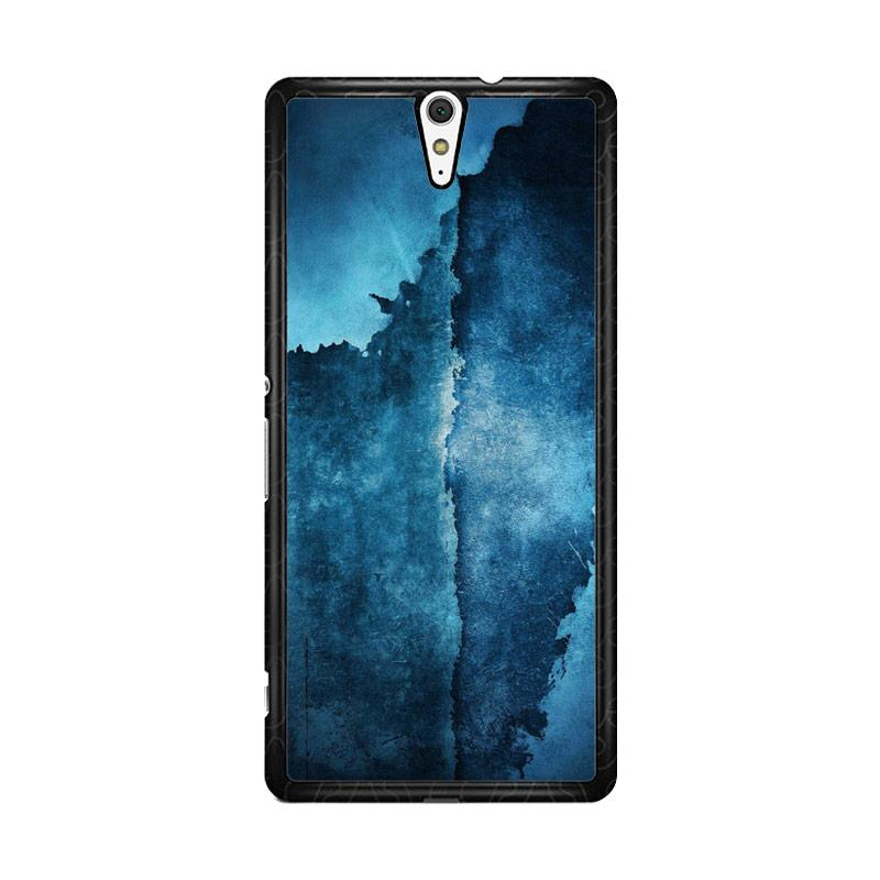 Flazzstore Abstrak Wall O0241 Custom Casing for Sony Xperia C5 Ultra