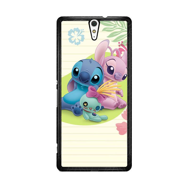 Flazzstore Stitch Disney O0413 Custom Casing for Sony Xperia C5 Ultra