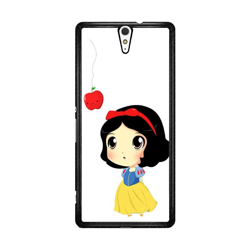 Flazzstore Cute Snow White Chibi F0160 Custom Casing for Sony Xperia C5 Ultra