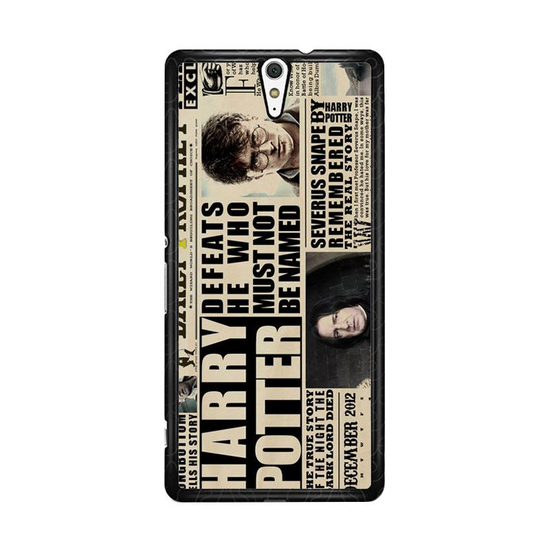 Flazzstore December2012 Harry Potter Daily Prophet F0163 Custom Casing for Sony Xperia C5 Ultra