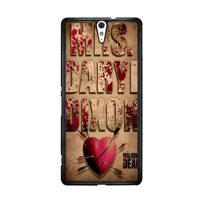 Flazzstore The Walking Dead Mrs Dixon Z0702 Custom Casing for Sony Xperia C5 Ultra