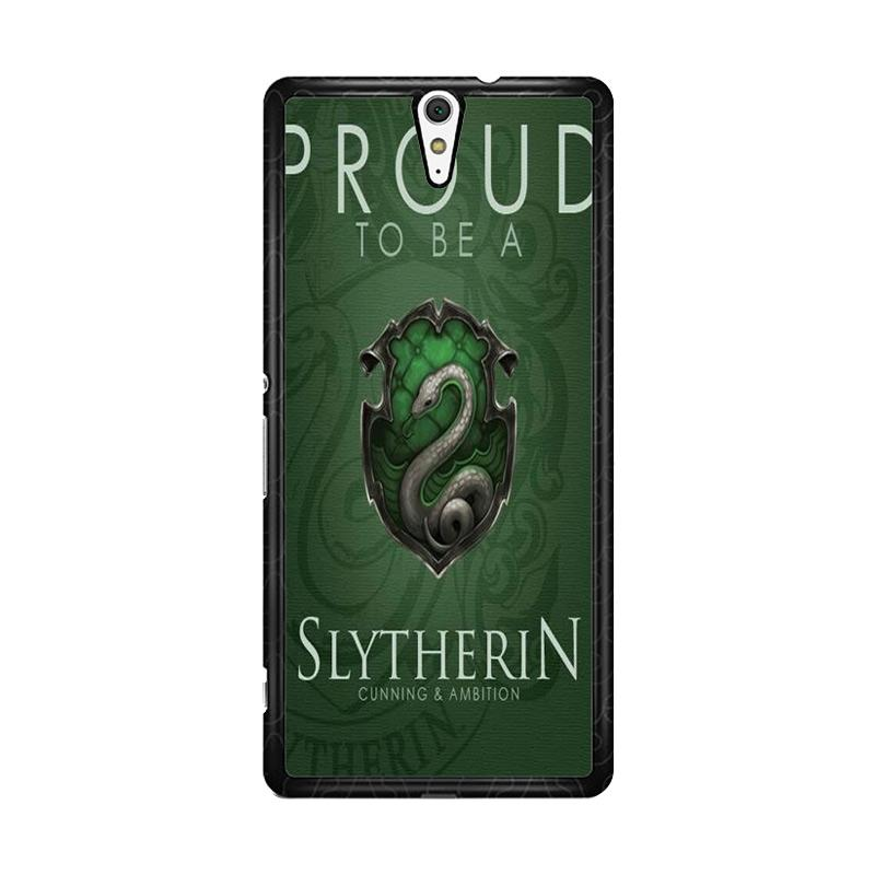 Flazzstore Proud To Be Slytherin F0574 Custom Casing for Sony Xperia C5 Ultra