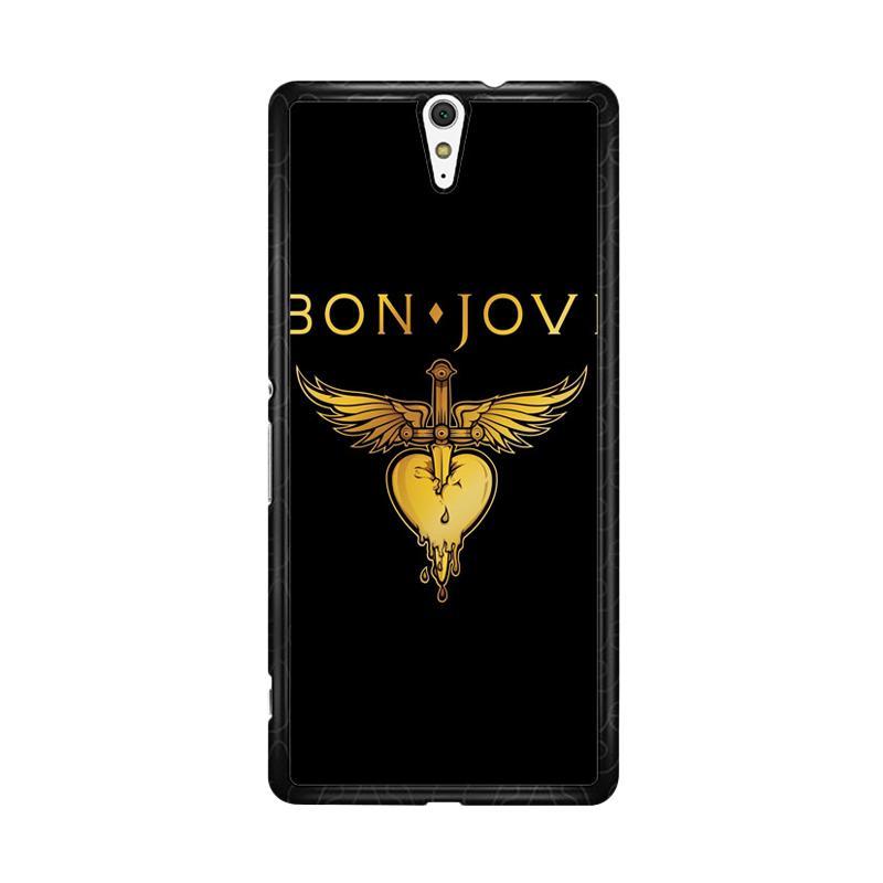 Flazzstore Bon Jovi Logo F0357 Custom Casing for Sony Xperia C5 Ultra