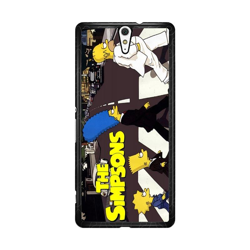 Flazzstore The Simpsons A Tribute The Beatles F0814 Custom Casing for Sony Xperia C5 Ultra