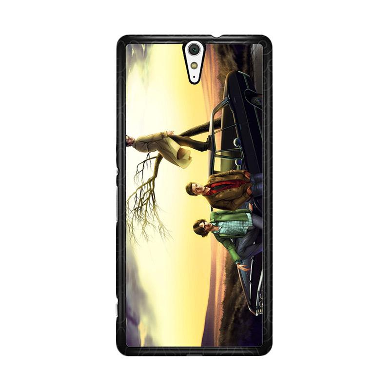 Flazzstore Supernatural Z0079 Custom Casing for Sony Xperia C5 Ultra
