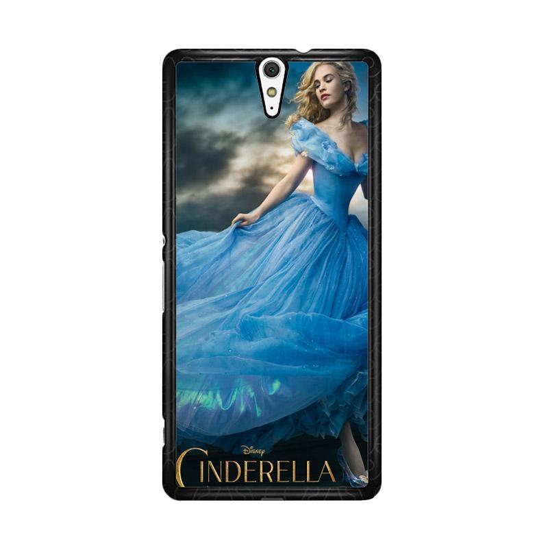 Flazzstore Cinderella 2015 Z0127 Custom Casing for Sony Xperia C5 Ultra