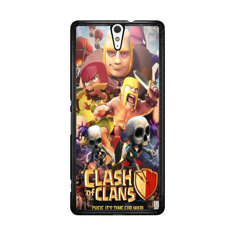 Flazzstore Clash Of Clans Movie Z0154 Custom Casing for Sony Xperia C5 Ultra