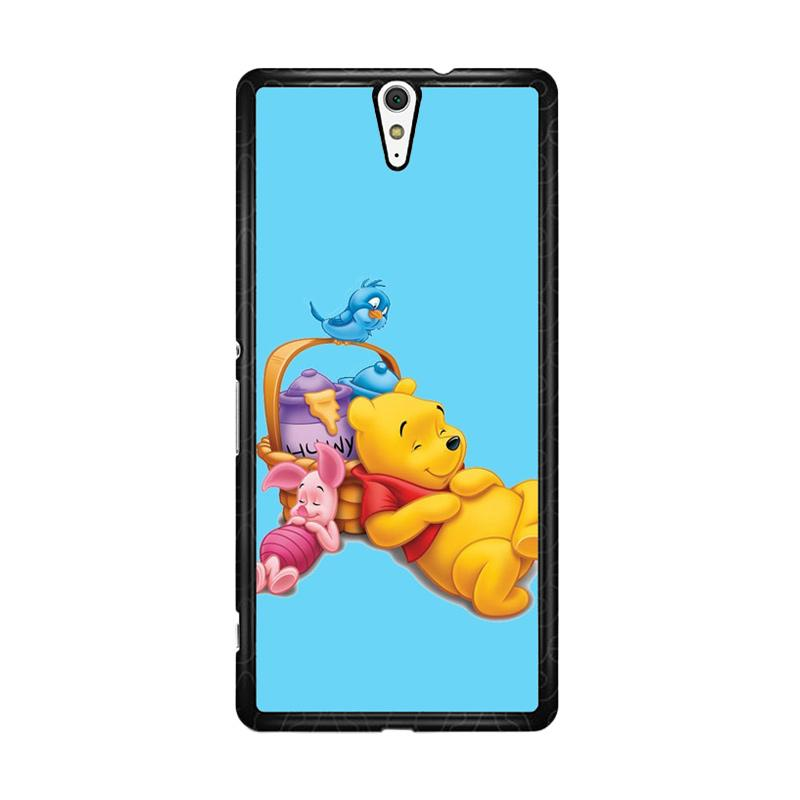 Flazzstore Funny Winnie The Pooh And Piglet Z1060 Custom Casing for Sony Xperia C5 Ultra