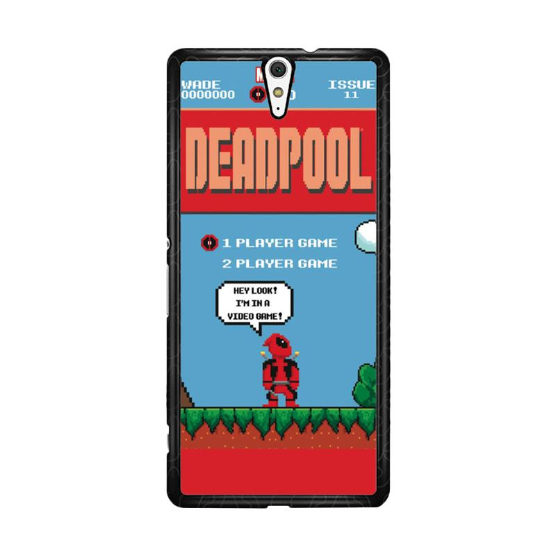 Flazzstore Deadpool Mario Bross Z1218 Custom Casing for Sony Xperia C5 Ultra