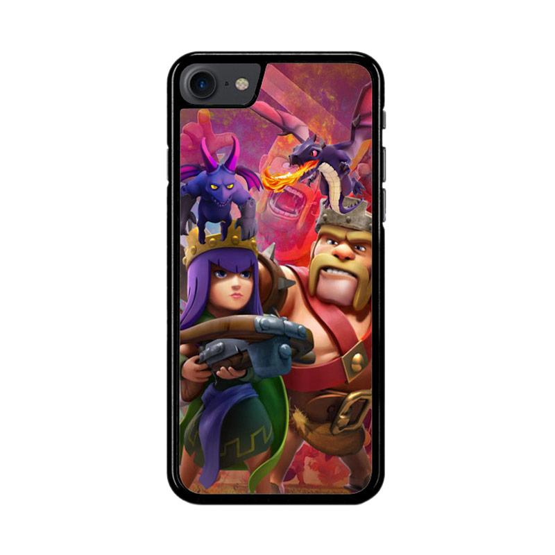 Flazzstore Clash Of Clans Game Z2756 Custom Casing for iPhone 7 or 8