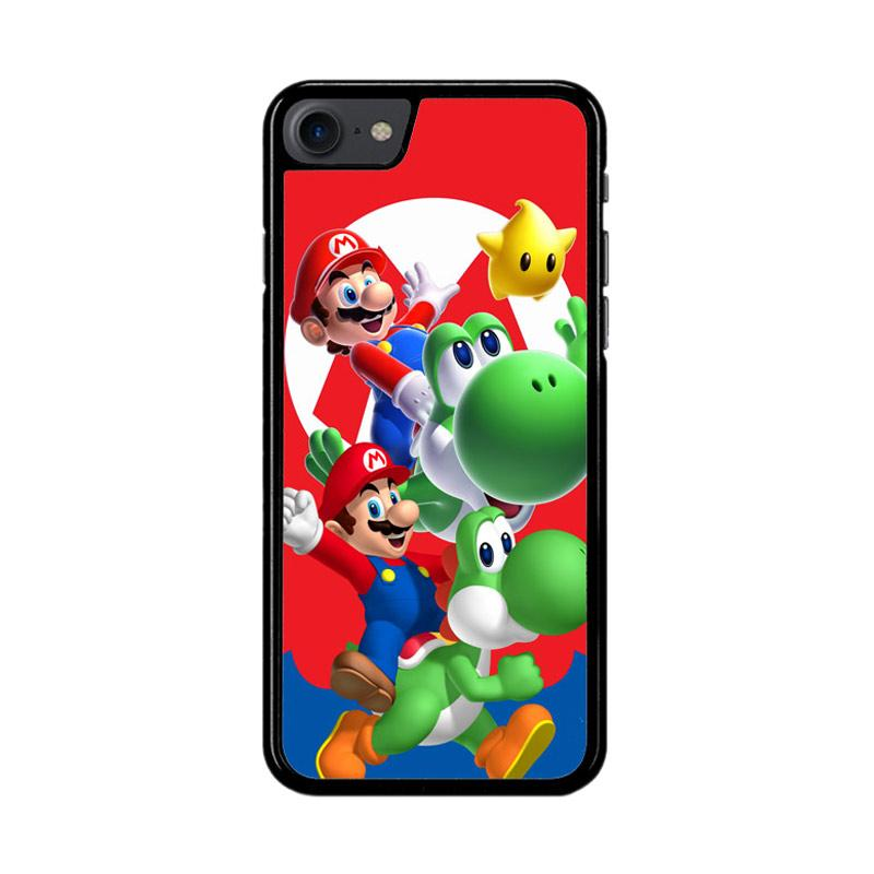 Flazzstore Mario Bros Yoshi Z3461 Custom Casing for iPhone 7 or 8