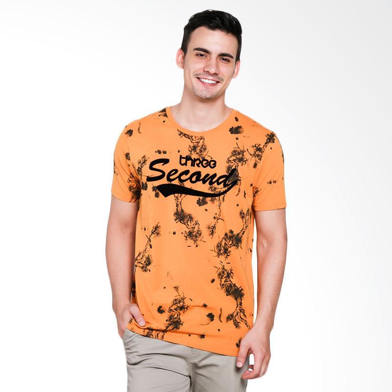 3SECOND 8701 Men Tshirt - Yellow ]