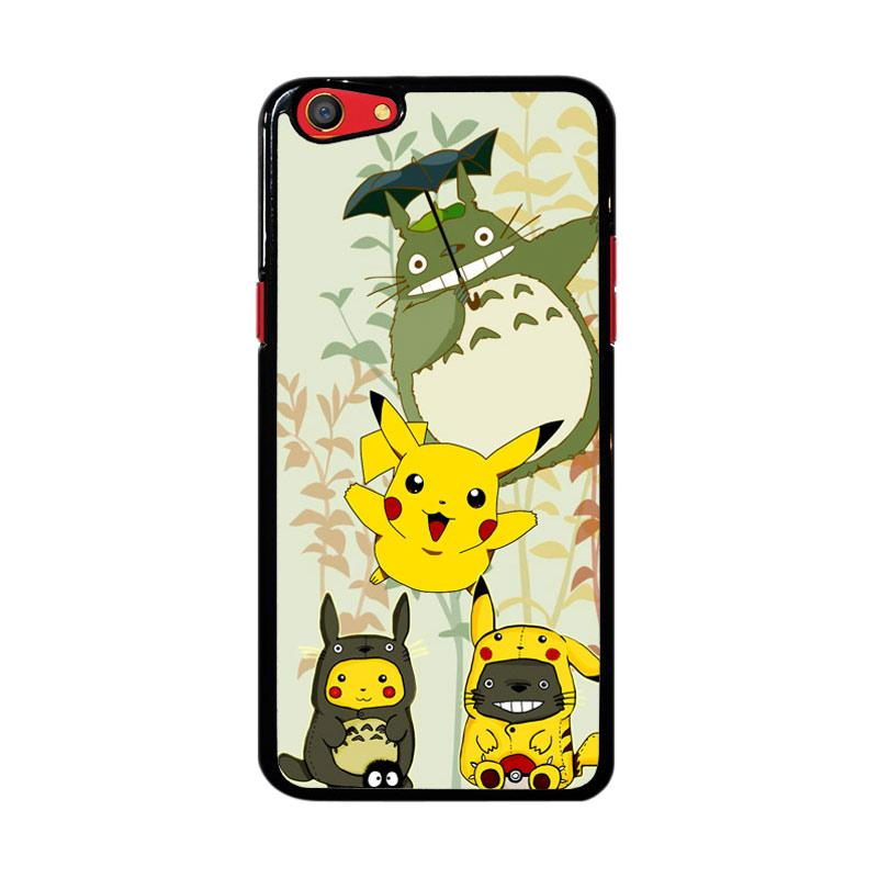Flazzstore Totoro Love Pikachu Pokemon Z3271 Custom Casing for Oppo F3