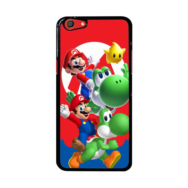 Flazzstore Mario Bros Yoshi Z3461 Custom Casing for Oppo F3