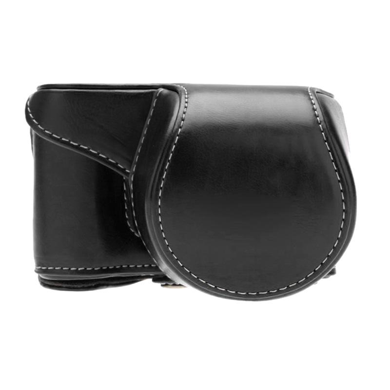 SONY Leather Casing for SONY Alpha A5000 or A5100 - Hitam