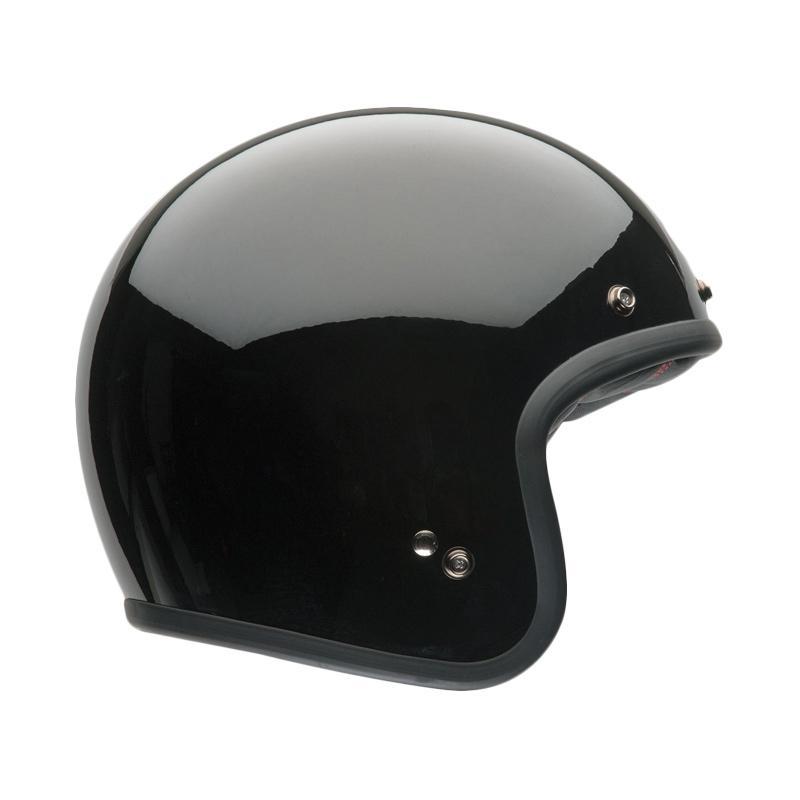 harga Bell Bell Custom 500 Helm Half Face - Glossy Black Blibli.com