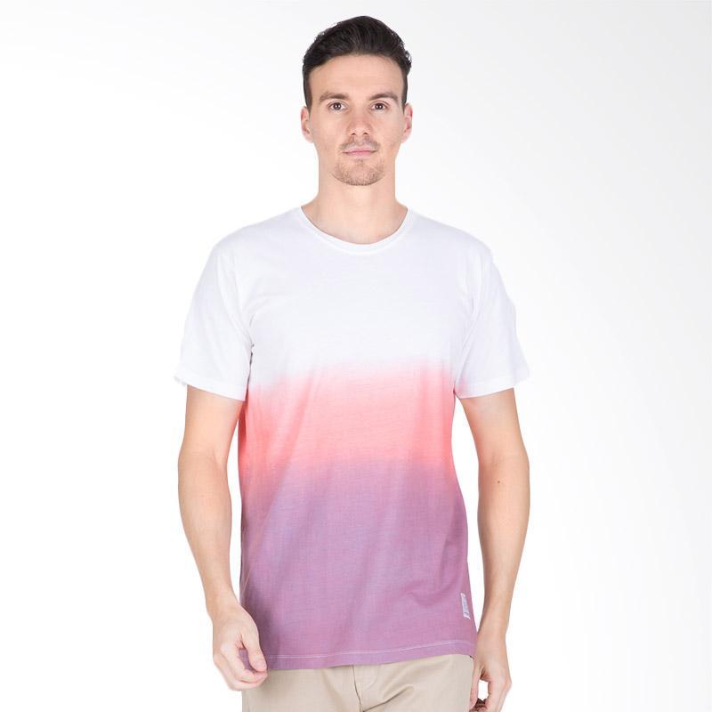 Tendencies Mix Dye T-Shirt - White Purple