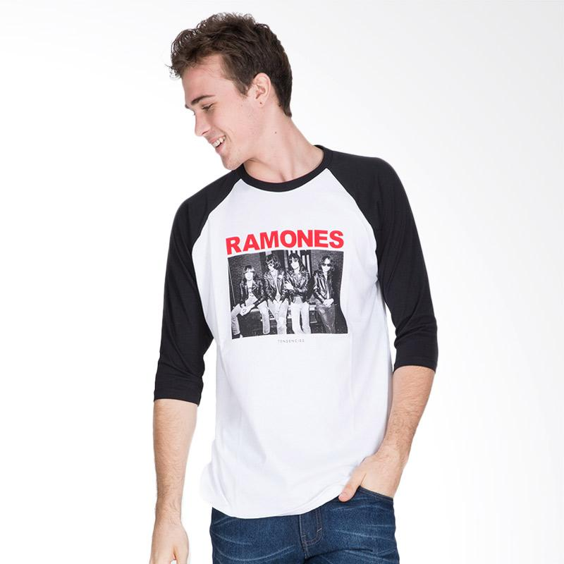 Tendencies Ramones Wall T-Shirt Pria