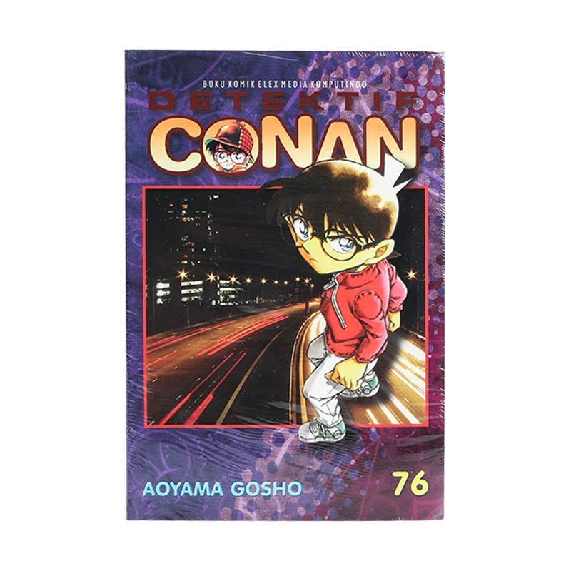 Elex Media Komputindo Detektif Conan 76 203050259 by Aoyama Gosho Buku Komik